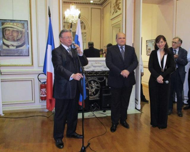 [Exposition] 50ème anniversaire de la sortie de Leonov - Paris du 8 au 10 octobre 2015 - Centre Culturel de Russie  Russie11