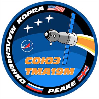 Vol spatial de Timothy Peake / Expedition 46 et 47 - PRINCIPIA / Soyouz TMA-19M Soyouz10