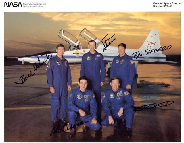 STS-41 et lancement de la sonde Ulysses / 25ème anniversaire Sts-4110