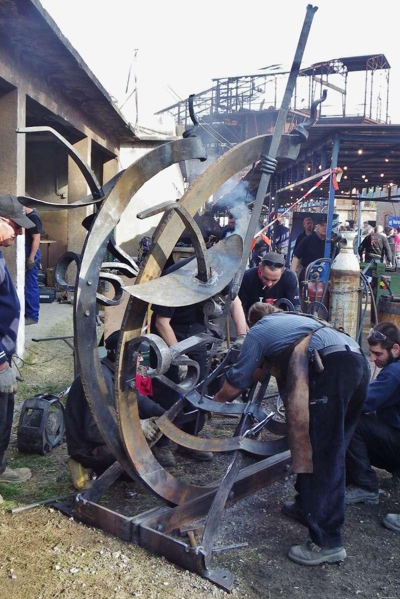 Rencontres Catalannes de ferronerie d'art 2015 Imgp0030