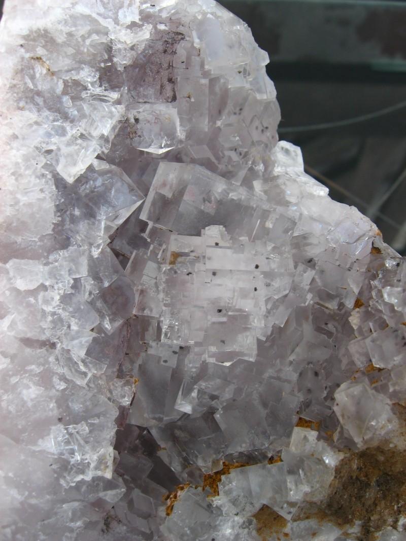 Différentes fluorites de la mine CLARA 00418