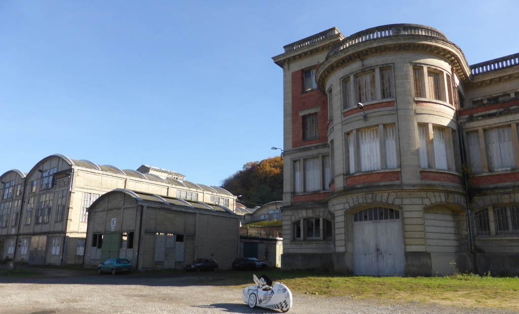 velomobile leiba xstream et engin electric de l'IUT de l' Aisne: 2015/2018 P1050225