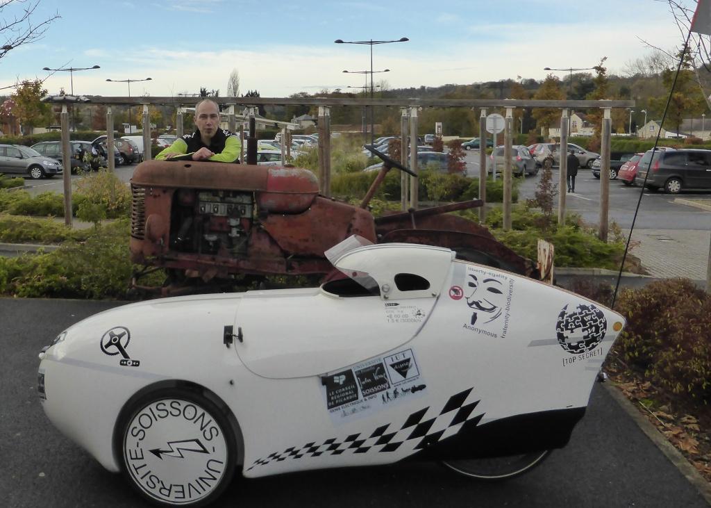 velomobile leiba xstream et engin electric de l'IUT de l' Aisne: 2015/2018 P1050232