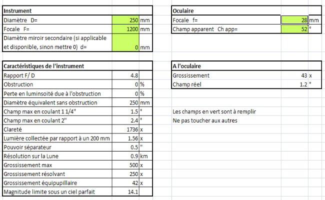 Calculs élémentaires Caract10