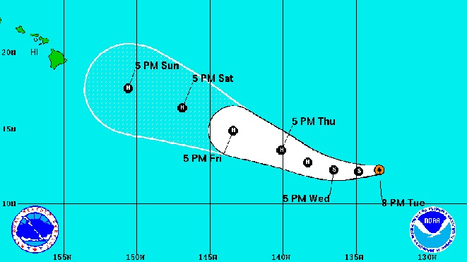 Okay,  seaoat,  let's test out your theory about hurricane forecasting. 6days10