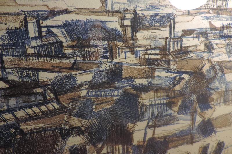 Urban Landscape PRINT 1961 - Keith Scott? Where? Dscn5010