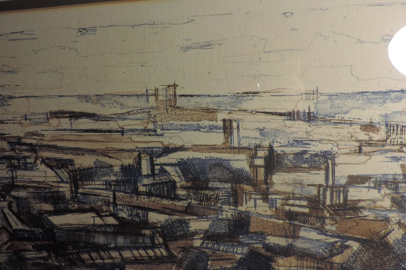 Urban Landscape PRINT 1961 - Keith Scott? Where? Dscn5013
