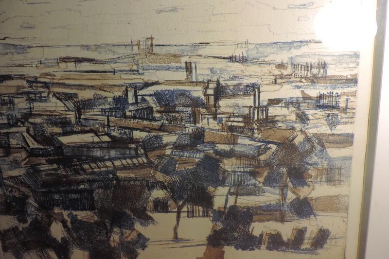 Urban Landscape PRINT 1961 - Keith Scott? Where? Dscn5014