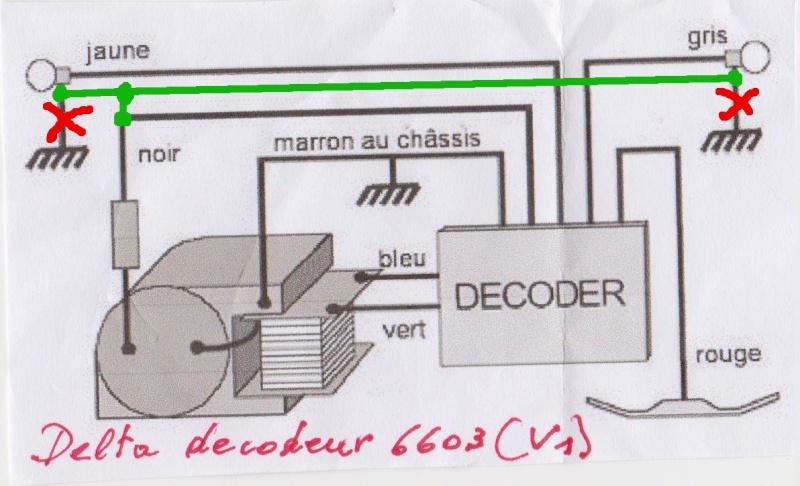 Décodeur delta 6603 (V1)  pour 3021 ou V200 Image110