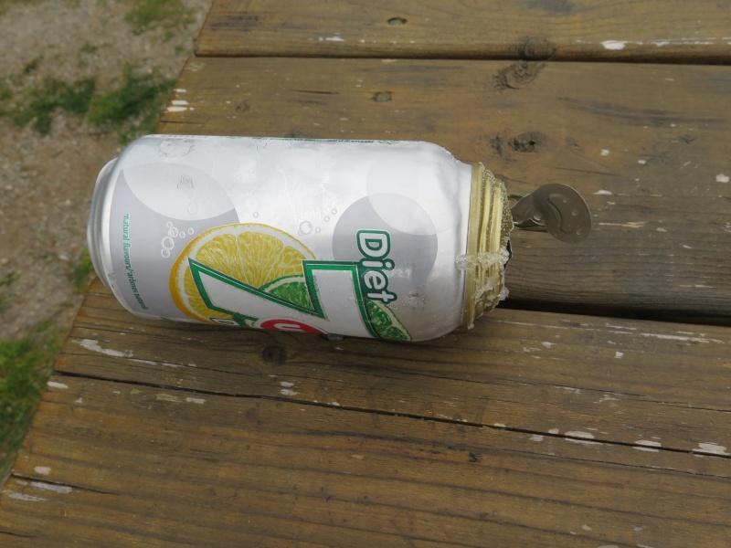 Canette de boisson gazeuse et gel ... Img_7114