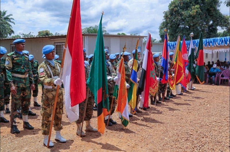 Maintien de la paix dans le monde - Les FAR en République Centrafricaine - RCA (MINUSCA) - Page 2 Far_rr10