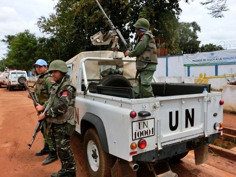 Maintien de la paix dans le monde - Les FAR en République Centrafricaine - RCA (MINUSCA) - Page 2 Pppp10