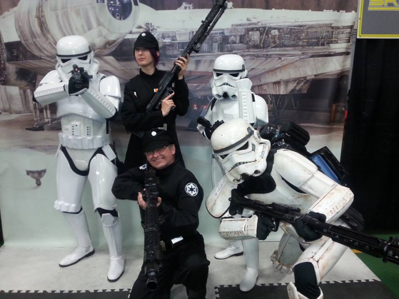 Trooping with the 501st  Me110