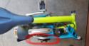 Poste de pilotage pour radin sur guidon M (smartphone + compteur + retro) Plie-h10