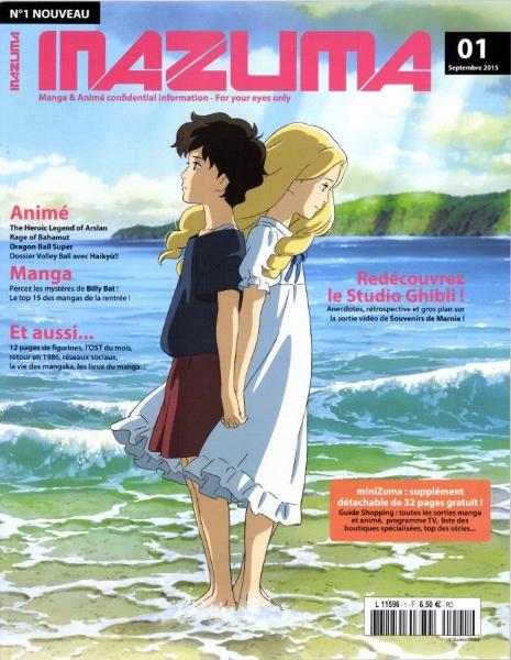 [News] INAZUMA Le nouveau mazine dédié aux mangas et animes Inazum10