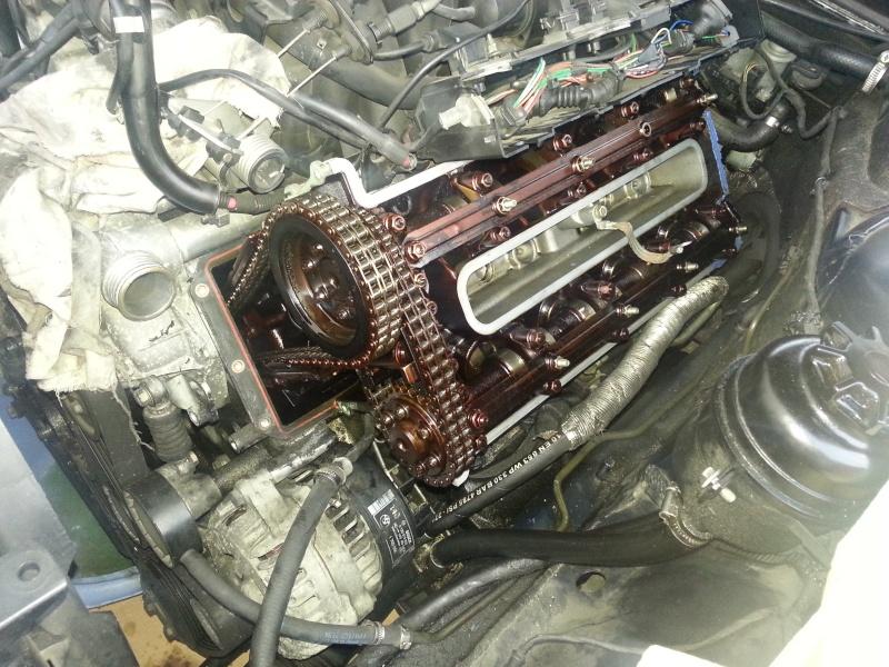 Fuite huile moteur M60 B2015010