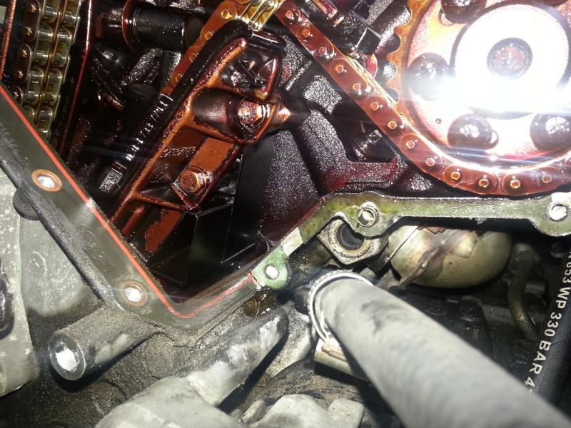 Fuite huile moteur M60 C2015010