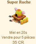 Ruche, Ruche rayée, Super ruche => Miel Sans_t43