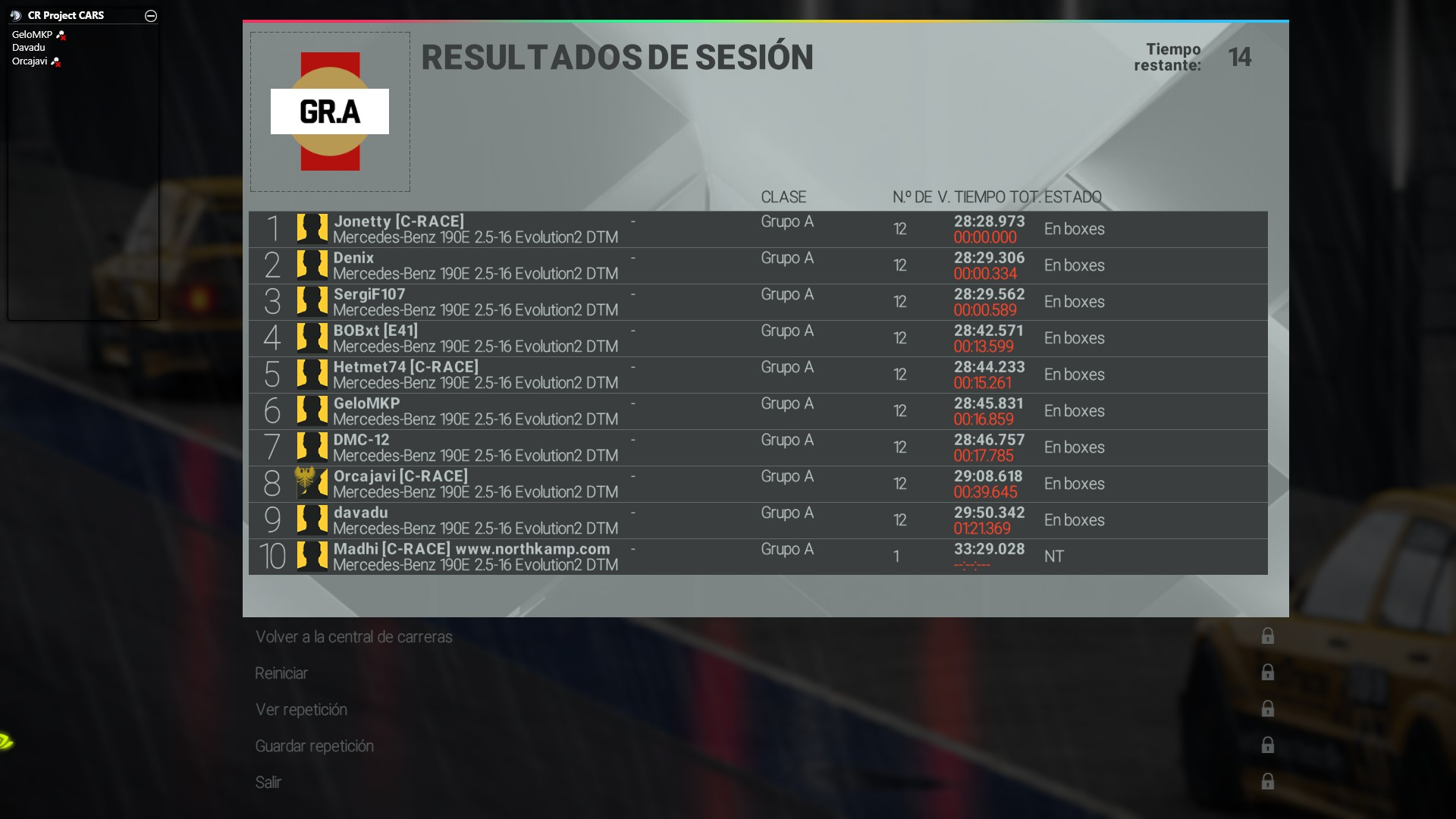 Sanciones Carrera 6 - SILVERSTONE GP 2015-110