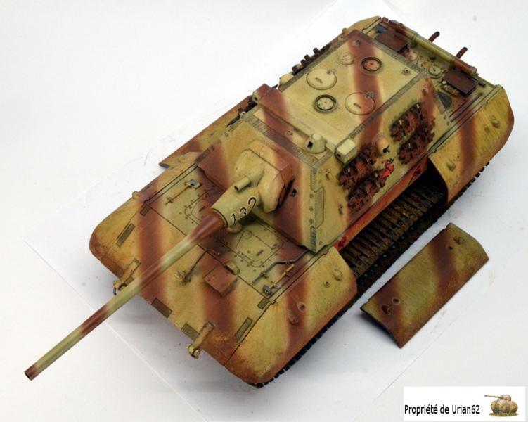 chenilles - [Terminé] E-100 DRAGON 1/35 avec PE Voyager Model + tourelle KRUPP (par Rhino) + chenilles Friul - Page 2 E100_r11