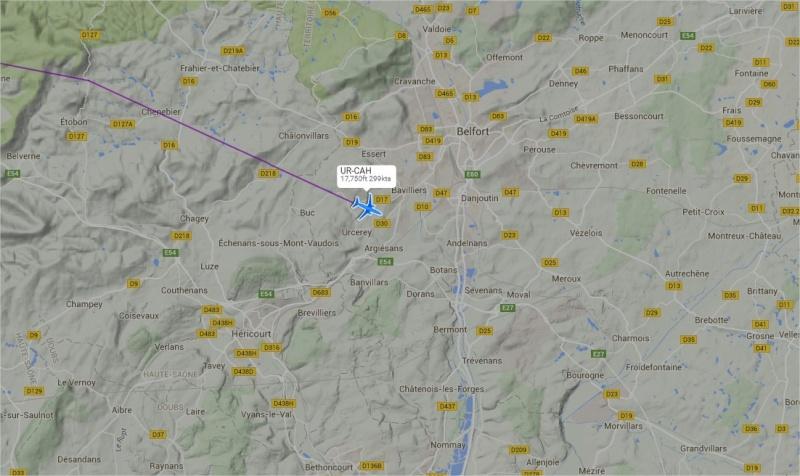 2015: le 27/08 à 2h45 - Boules lumineuses en file indienne -  Ovnis à Essert - Territoire de Belfort (dép.90) Antono10