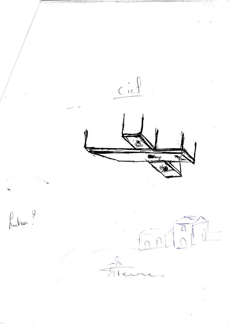 """1994: le 15/08 à 23h - en forme de"""" croix tronquee"""" -  Ovnis à fontcouverte  - Charente-Maritime (dép.17) Dessin10"""