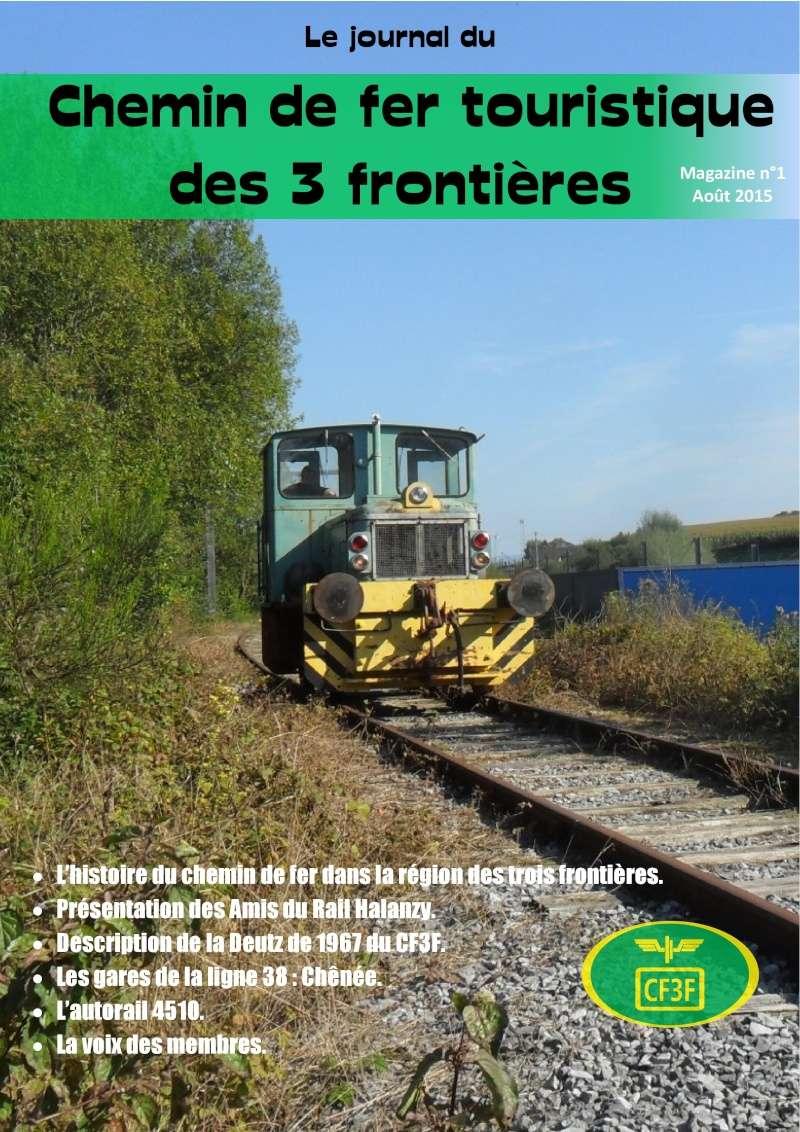 Journal du Chemin de Fer touristique des 3 Frontières. Jcf3f-10