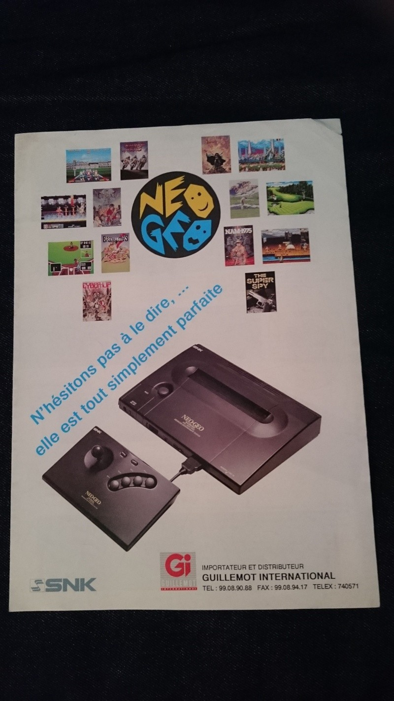 Les Brochures / Catalogues SNK Dsc_0011