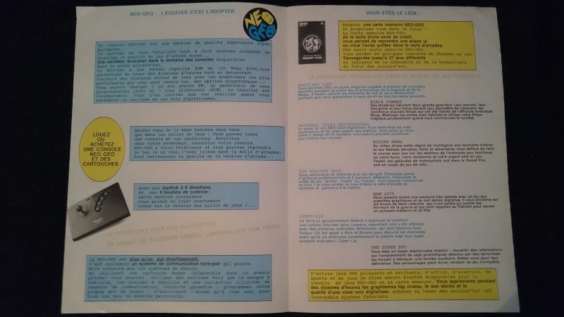 Les Brochures / Catalogues SNK Dsc_0012
