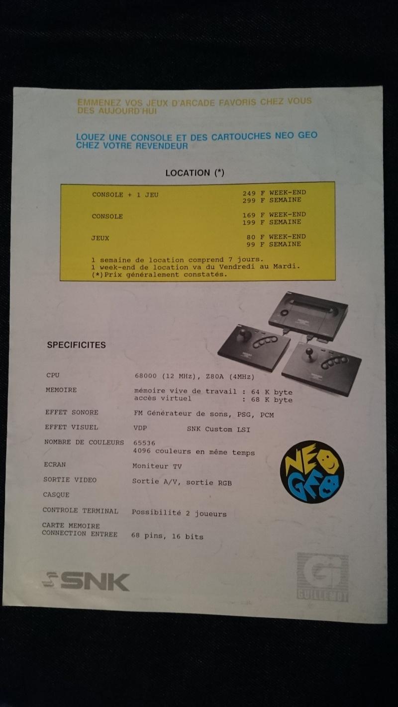 Les Brochures / Catalogues SNK Dsc_0013