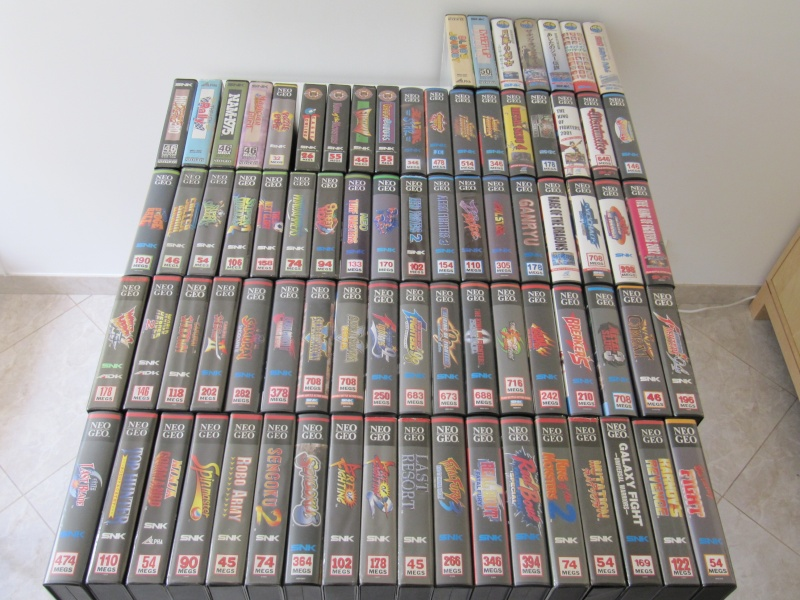 Ma collec' Neo Geo AES US Img_7811