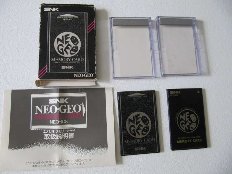 Ma collec' Neo Geo AES US Img_7813