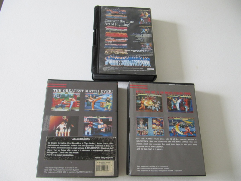 Ma collec' Neo Geo AES US Img_7815