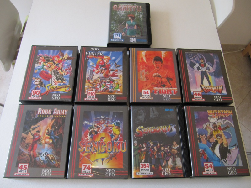 Ma collec' Neo Geo AES US Img_7818