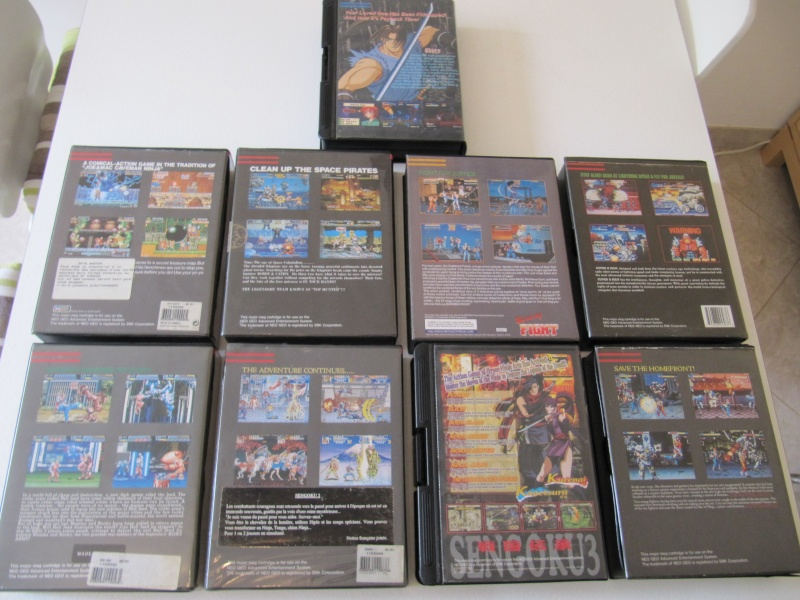 Ma collec' Neo Geo AES US Img_7819
