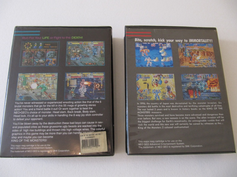 Ma collec' Neo Geo AES US Img_7821