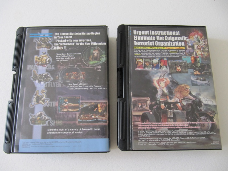 Ma collec' Neo Geo AES US Img_7828