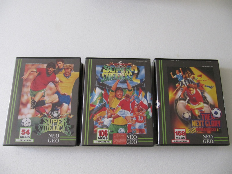 Ma collec' Neo Geo AES US Img_7829