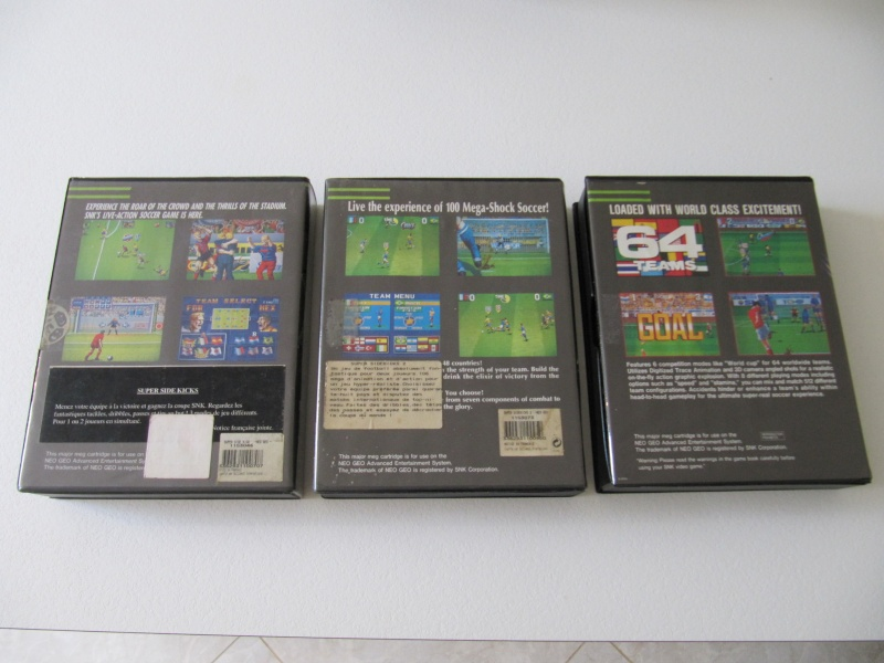 Ma collec' Neo Geo AES US Img_7830
