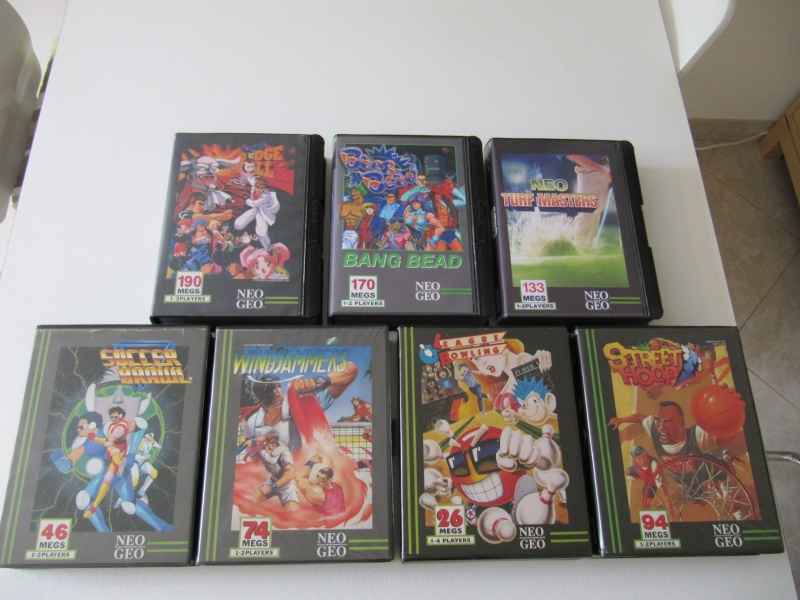 Ma collec' Neo Geo AES US Img_7831