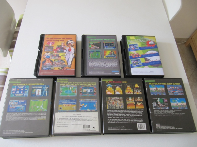 Ma collec' Neo Geo AES US Img_7832