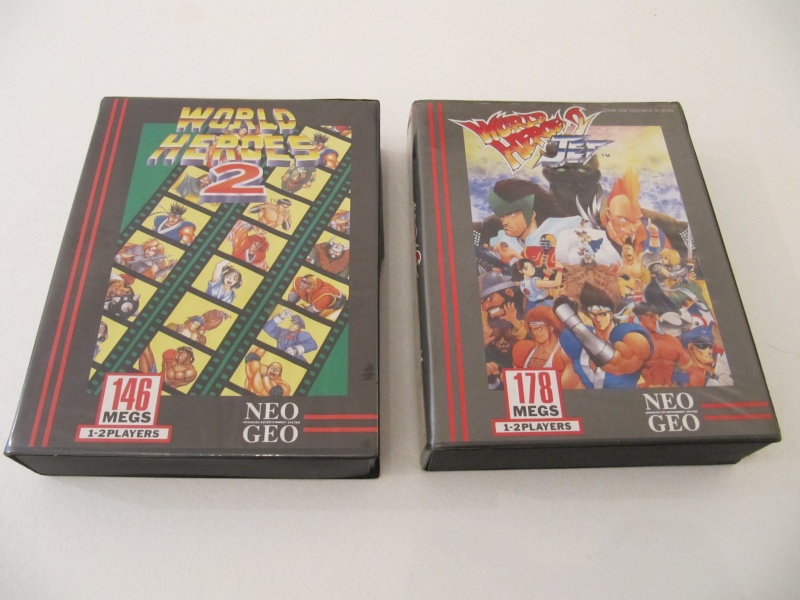 Ma collec' Neo Geo AES US Img_7833