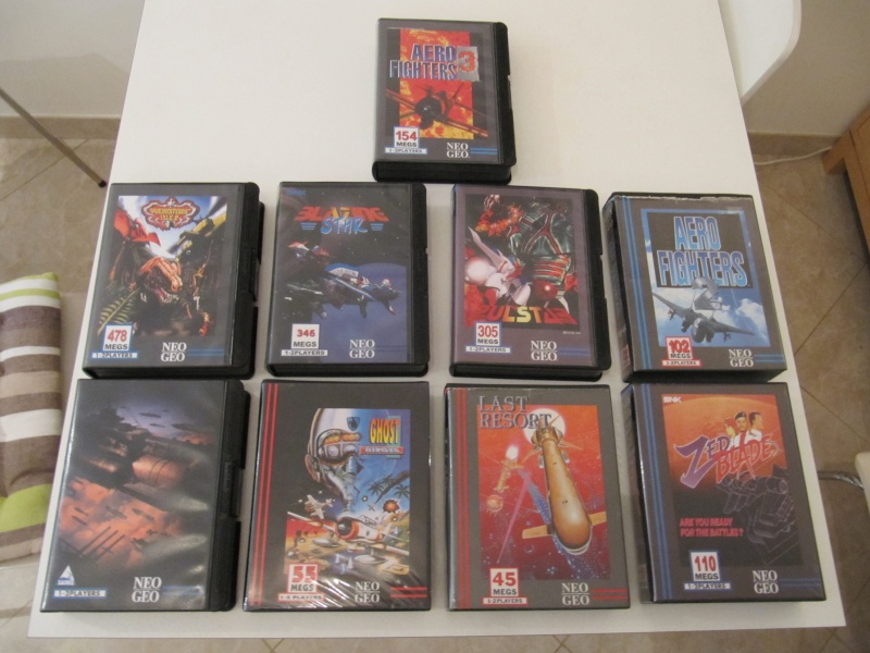 Ma collec' Neo Geo AES US Img_7835