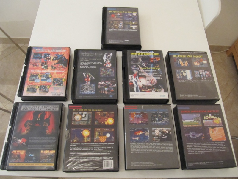 Ma collec' Neo Geo AES US Img_7836