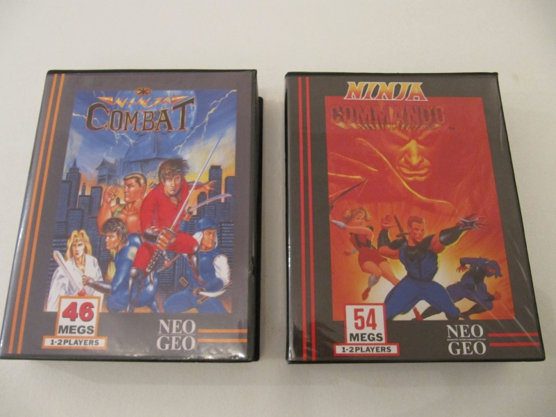 Ma collec' Neo Geo AES US Img_7837