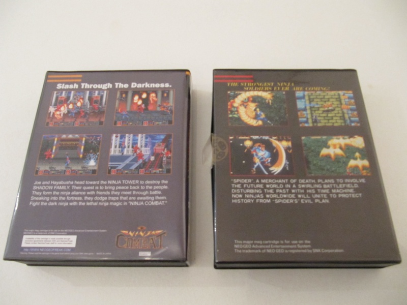 Ma collec' Neo Geo AES US Img_7838
