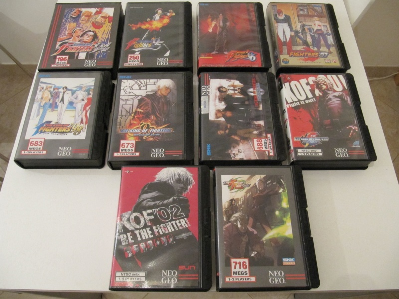 Ma collec' Neo Geo AES US Img_7839