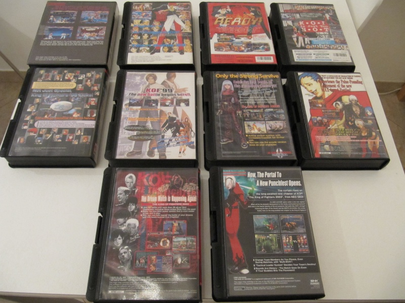 Ma collec' Neo Geo AES US Img_7840