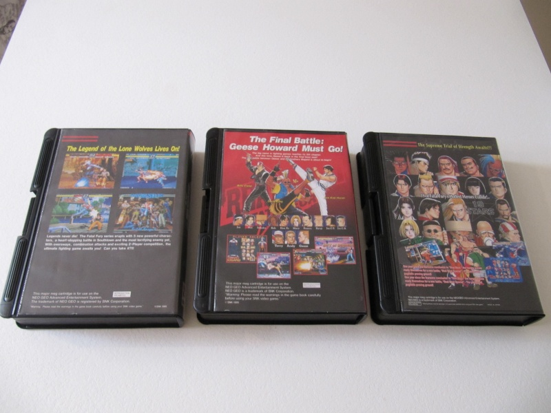 Ma collec' Neo Geo AES US Img_7842
