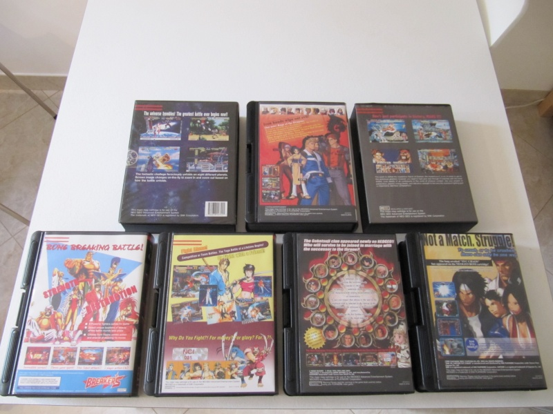 Ma collec' Neo Geo AES US Img_7844